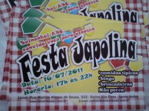 Panfletos Festa Japolina